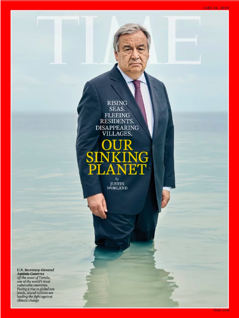 ONU – António Guterres s'engage sur le changement climatique