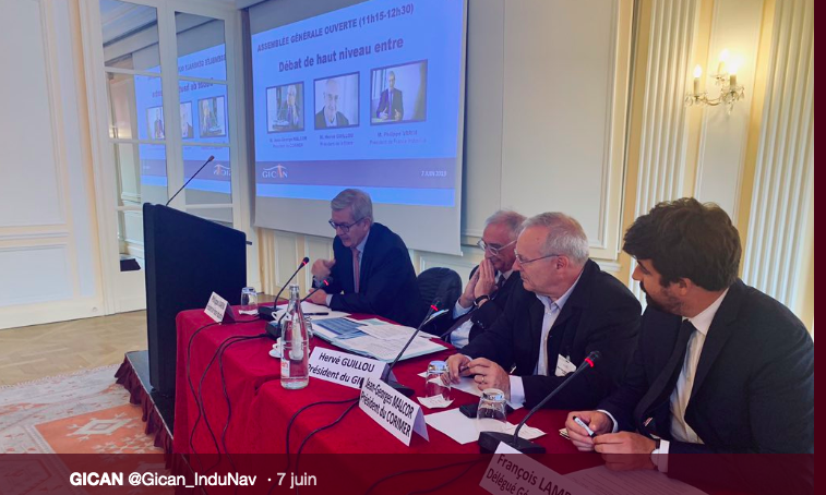 GICAN – Hervé GUILLOU, PDG de NAVAL GROUP est réélu