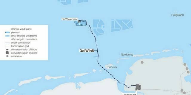 TenneT retient Prysmian pour Dolwin5