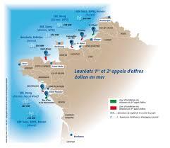 Accord de la Commission européenne pour les 6 premiers parcs éoliens en merfrançais