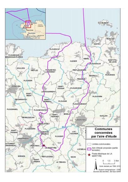 La CNDP rend public le Rapport de concertation préalable sur le projet Celtic Interconnector