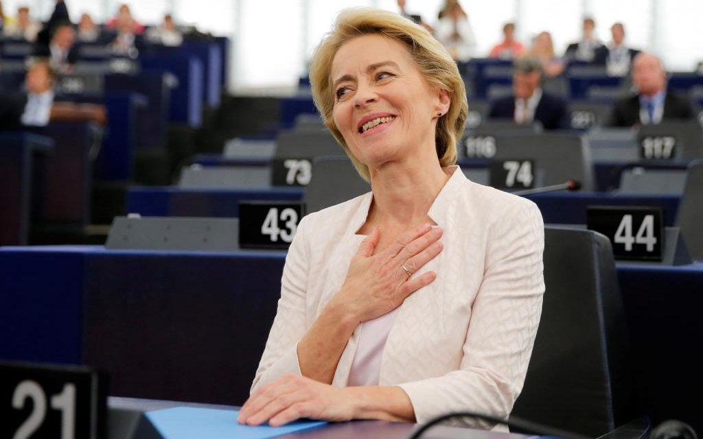 Ursula von der Leyen élue