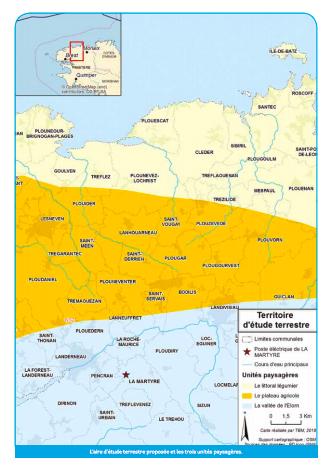 Zones etudiee CNDP EDM 10 07 019