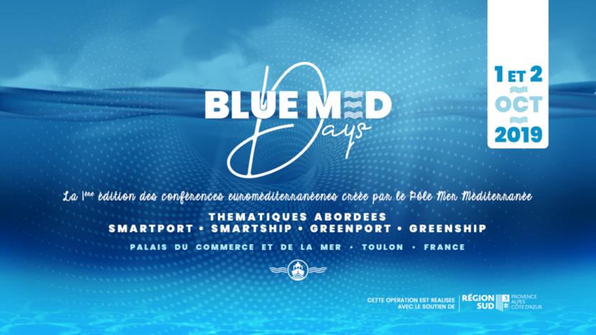 Les Blue Med Days, les nouvelles conférences euro-méditerranéennes