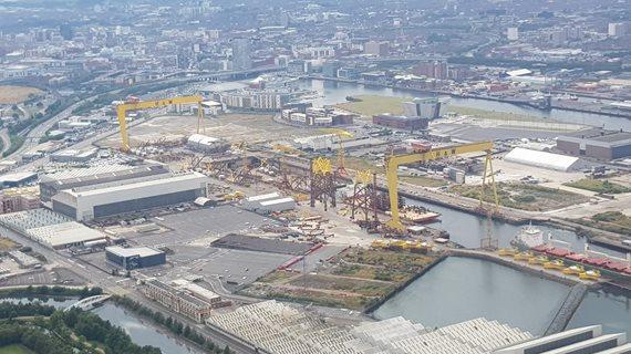 Le chantier naval mythique Harland & Wolf cesse ses activités
