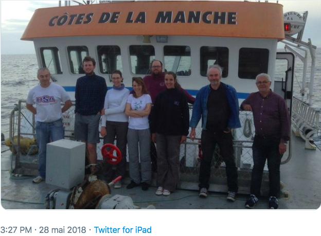 Programme APPEAL 2e année de suivi en mer sur le site de Groix et Belle‐Île