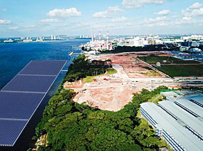 Sunseap offshore salt water floating solar singapore EDM 08 08 019 result