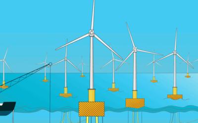 Carbon Trust met 1 M£ pour améliorer ancrages et maintenance de l'éolien flottant
