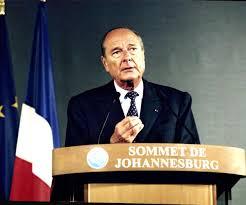 «Notre maison brûle et nous regardons ailleurs» Jacques Chirac
