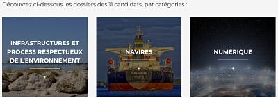 11 candidats pour le trophée Port du Futur organisé par le CEREMA