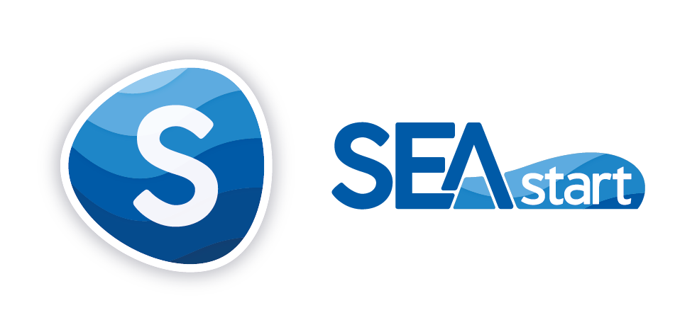 SEASTART logo EDM full L