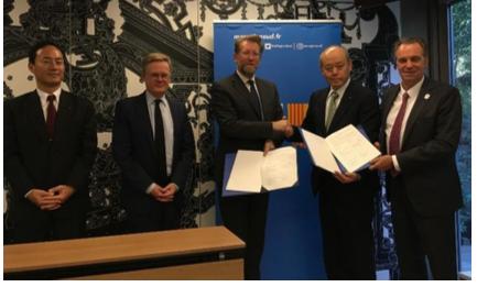 Ideol et Taisei signent un accord sur l'éolien flottant au Japon