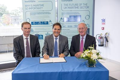 University and Shell open new research centre for a cleaner shipping industry