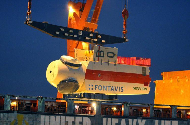 Senvion a livré la dernière turbine du Trianel Windpark Borkum II