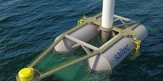 Saitec testera son flotteur SATH pour les éoliennes de 10 MW début 2020