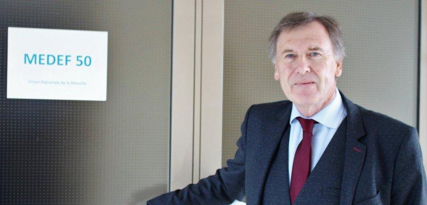 Gildard Beuve a été réélu président du Medef de la Manche