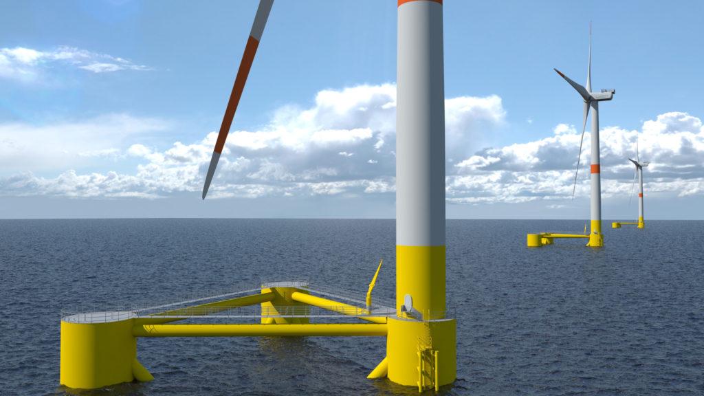 Occitanie : Etude sur l'impact d'un développement de l'éolien flottant sur l'emploi régional