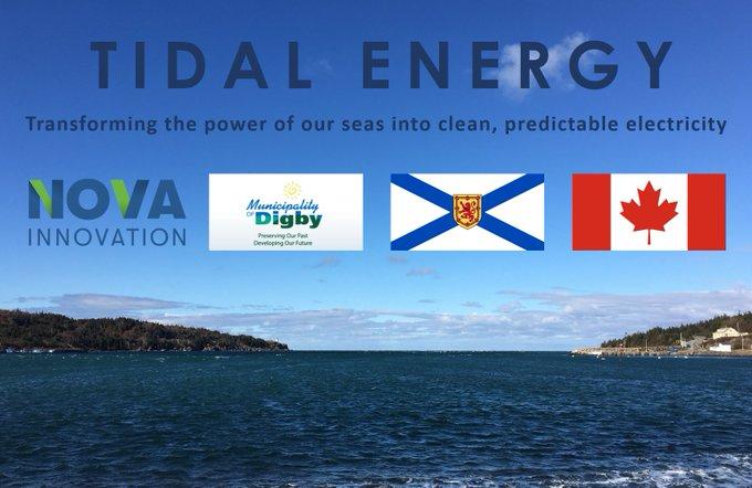 Nova Innovation obtient un permis pour un parc hydrolien de 1,5 MW au Canada