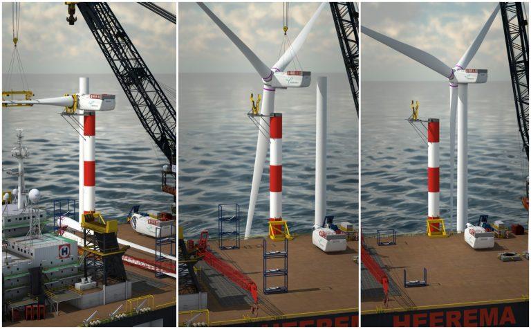 MHI-Vestas innove et installe son proto V174-9,5 MW au centre Østerild National Test Center