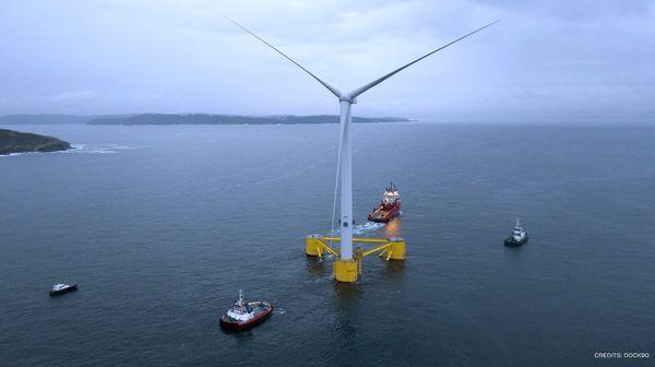 WindFloat Atlantic a commencé à produire de l'électricité au large du Portugal