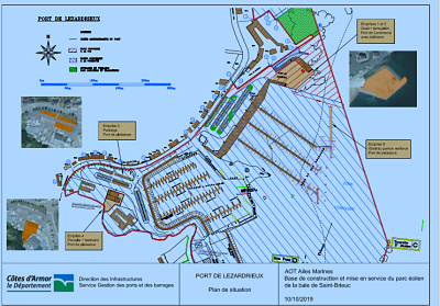 Parc éolien en mer de Saint-Brieuc : Ailes Marines s'installera au port de Lézardrieux