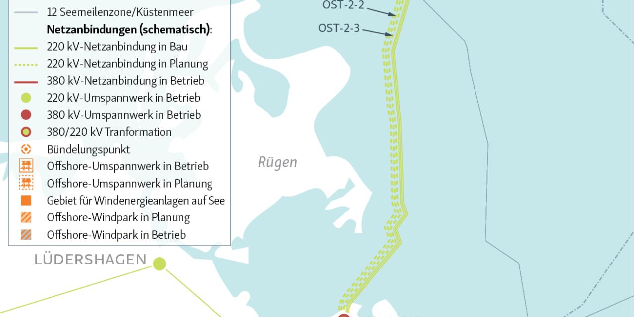 Iberdrola annonce les raccordements des parcs de Saint Brieuc, de Baltic Eagle et de Wikinger Süd