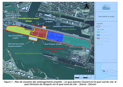L'Ae rend son avis sur l'aménagement du Port du Havre pour l'installation de l'usine de Siemens Gamesa