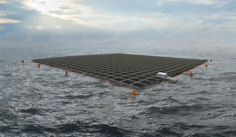 Saipem et Equinor coopèrent dorénavant dans le solaire flottant en mer