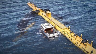 La première ferme d'hydroliennes flottantes sera à l'EMEC