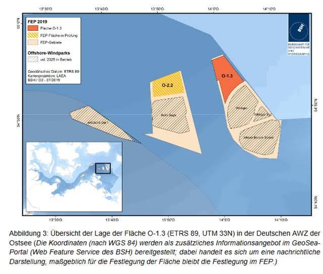 L'Agence fédérale maritime et hydrographique propose de futurs zones offshore et consulte le public
