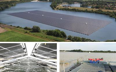 BayWa r.e. prêt pour le solaire flottant en France