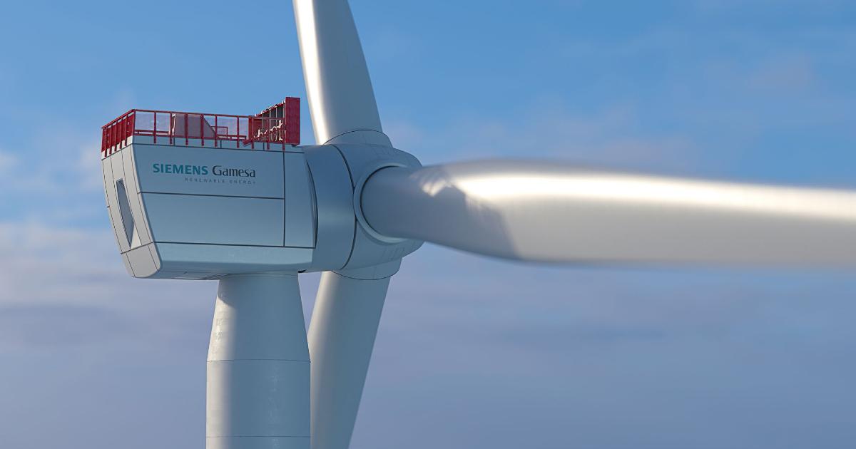 Siemens Gamesa reçoit sa première commande ferme pour un projet éolien en mer en France