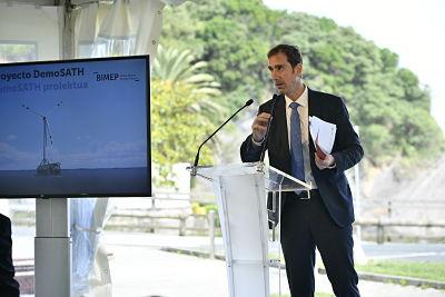 Saitec Offshore a signé avec BiMEP pour son éolienne flottante