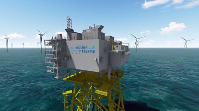 Parc éolien offshore de Fécamp : et si nous parlions finances ? ITV de Cédric Le Bousse