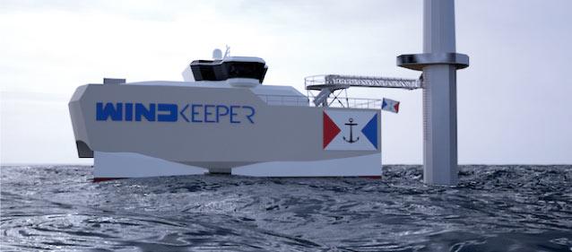 Le projet Windkeeper propose un post-doc à l'ENSTA Bretagne