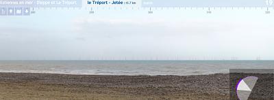 Éoliennes en mer Dieppe – Le Tréport : Élus et associations écrivent à Emmanuel Macron pour qu'il annule le projet