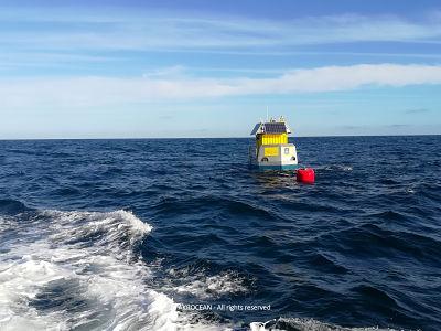 Début de la campagne de mesures pour la future zone éolienne flottante en Bretagne sud