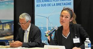 Lancement du débat public, des éoliennes flottantes au sud de la Bretagne?