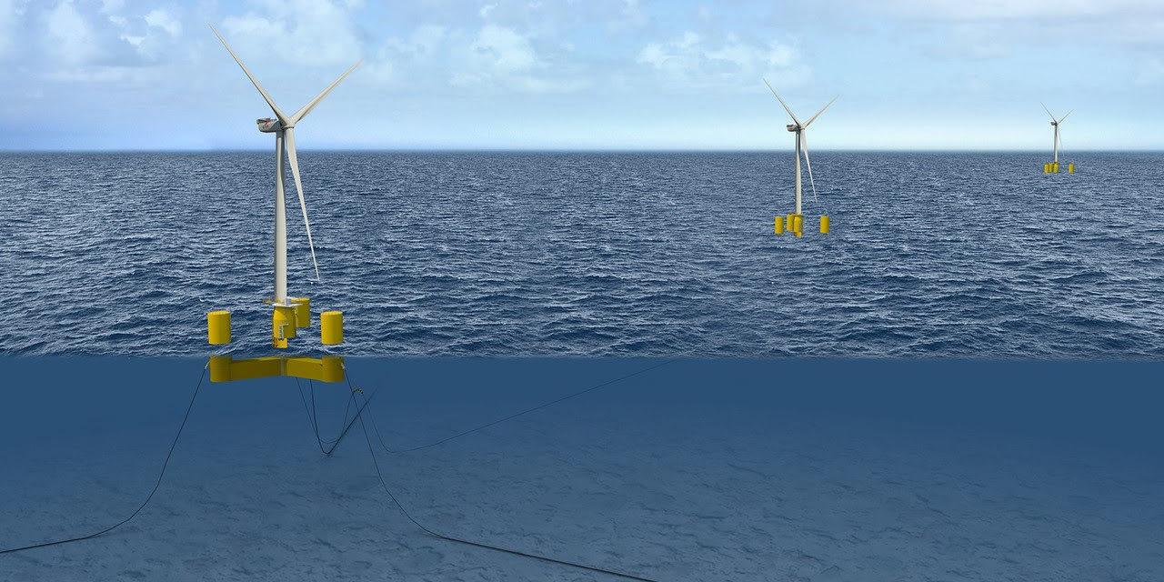 Appels d'offres écossais Scotwind Leasing : Naval Energies rejoint DeepWind