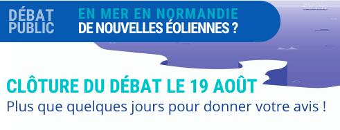 Débat public de Normandie : J-7 avant la clôture du site de la Commission particulière