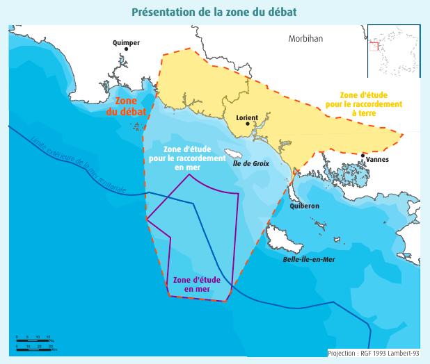 Débat public Sud Bretagne autour de l'éolien flottant : Questions déjà posées