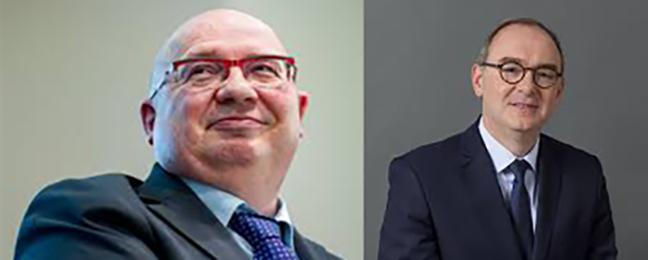 Xavier Piechaczyk, président de RTE, François Brottes à la Cour des Comptes