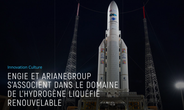 Engie et ArianeGroup signe un accord dans le domaine de l'hydrogène