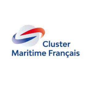 logo cluster mariime français