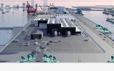 ENGIE Solutions retenu par Siemens Gamesa pour intégrer le groupement GTM Normandie-Centre qui construit l'usine de fabrication d'éoliennes offshore au Havre