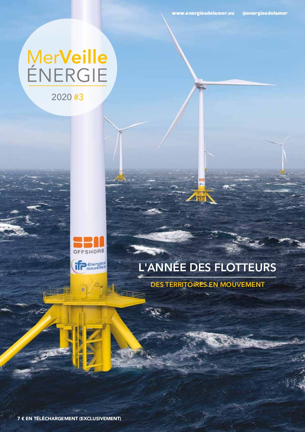 FOWT2020, la manifestation internationale s'ouvre à Marseille et MerVeille Energie publie le numéro dédié au flottant