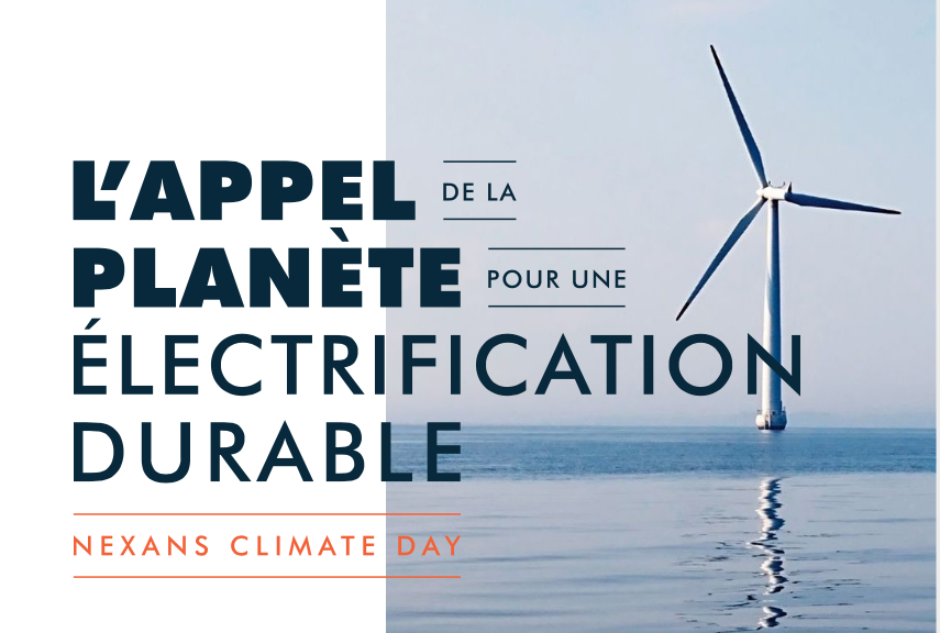 Nexans lance son «Climate Day»