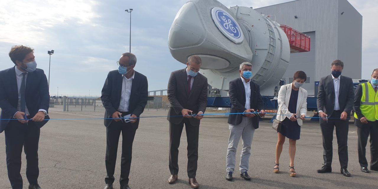 Parc de Saint-Nazaire: la première nacelle Haliade 150-MW6 est sur le quai de l'usine de Montoir en Bretagne – Partie 1