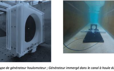 Générateurs Houlomoteurs hybrides – Étude sous houle propagative