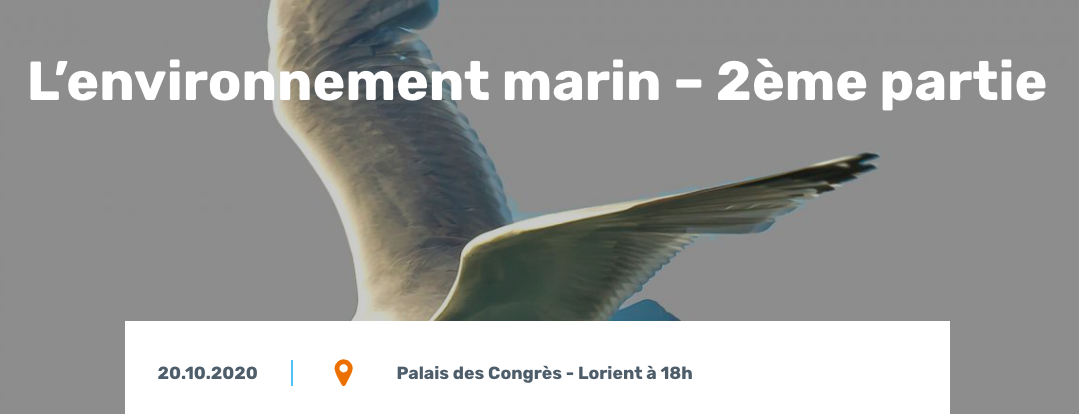 CPDP Bretagne sud : 2ème débat sur l'environnement marin